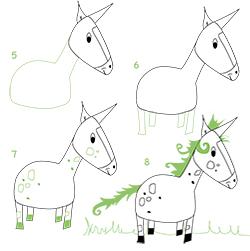 new graphic - Comment Dessiner Une Licorne